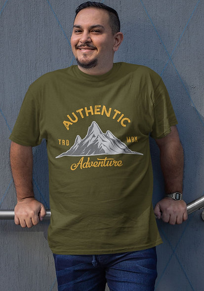 Authentic Adventure Short-Sleeve Unisex T-Shirt