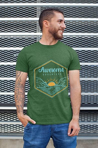 Awesome Adventure Short-Sleeve Unisex Sexy T-Shirt