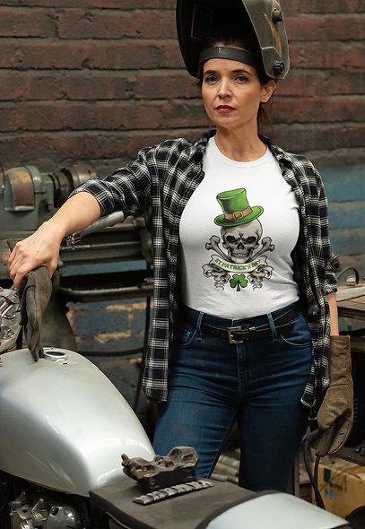 Saint Patrick's Day Skull Short-Sleeve Unisex T-Shirt