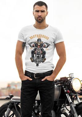High Quality Unique Cool Sexy Biker Shirt