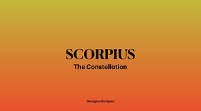 Scorpius Constellation