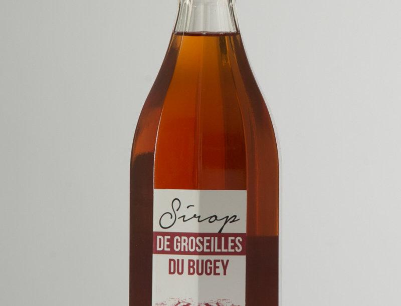 100 cl Sirop de Groseilles (sans colorants ni conservateurs)