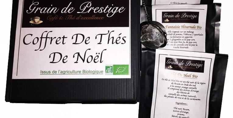Coffret Thé De Noël Bio+ Infuseur