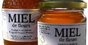 Miel de fleur en pot : 1 kg ou 500 g