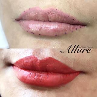 Wake up fresh with semi-permanent lip ta