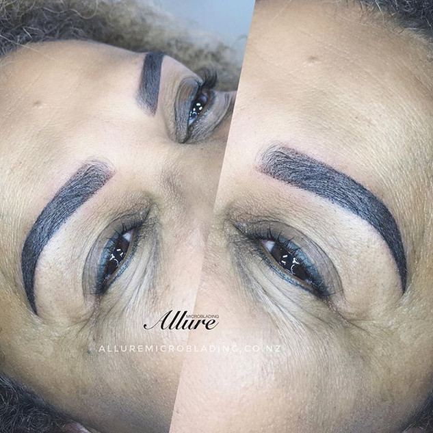 Ombre Powder Brows 💣 😍_The technique o