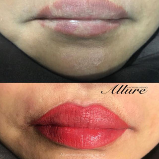 If you have discolouration or uneven col