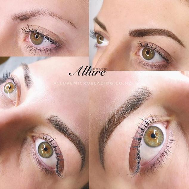 Combination brows + Keratin lash lift +