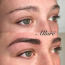 feature brows, microblading, powder brows