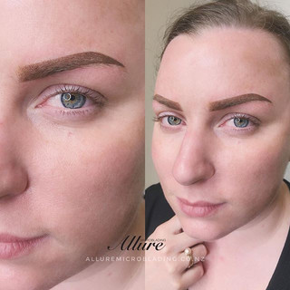 Annual touch up. Ombre powder brows , fa