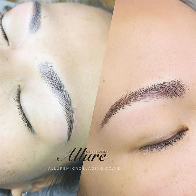Combination brows, the ultimate brow tre