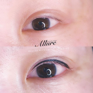 Eyeliner tattoo 👁👁. Natural thin line