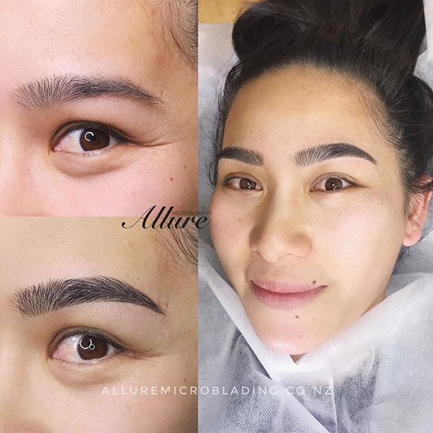 Her smile made my day. 🥰_Microblading b