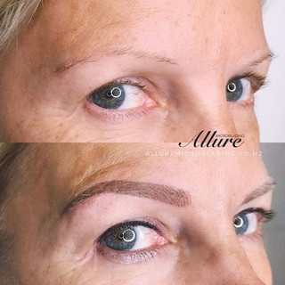 Combination brows + Eyeliner tattoo_💕💕
