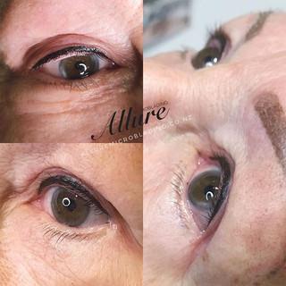 eyeliner tattoo. 👁👁 ._Added definition