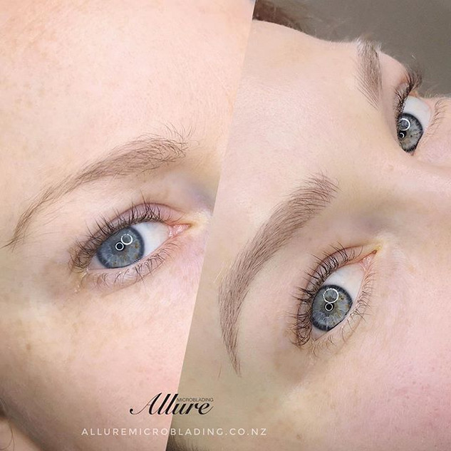 Microblading brows_ Natural look require