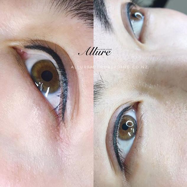 Eyeliner tattoo 👁👁. Those classic line