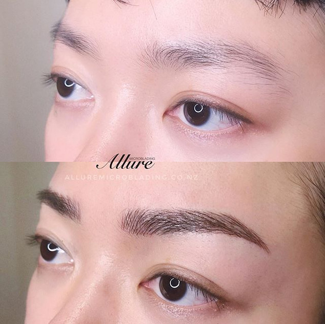 Microblading brow, natural looking for t