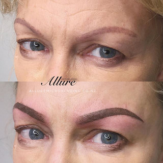 Ombre powder brows
