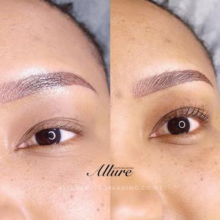 Lash lift + tint + semi-permanent mascar