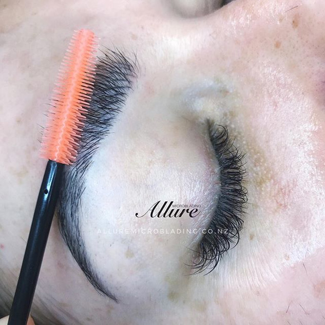 Healed microblading brow , 1st session.j