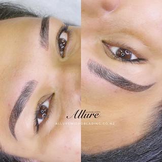 Combination brows