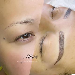 Combination brows.