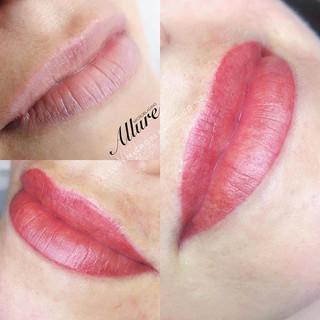 💋💋_Lip blush, contour, technique will