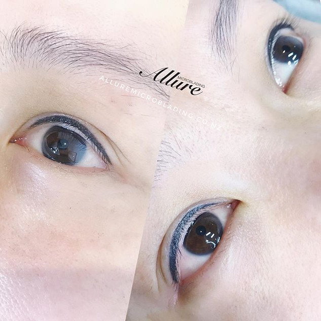 Eyeliner tattoo 👁👁. Painless procedure