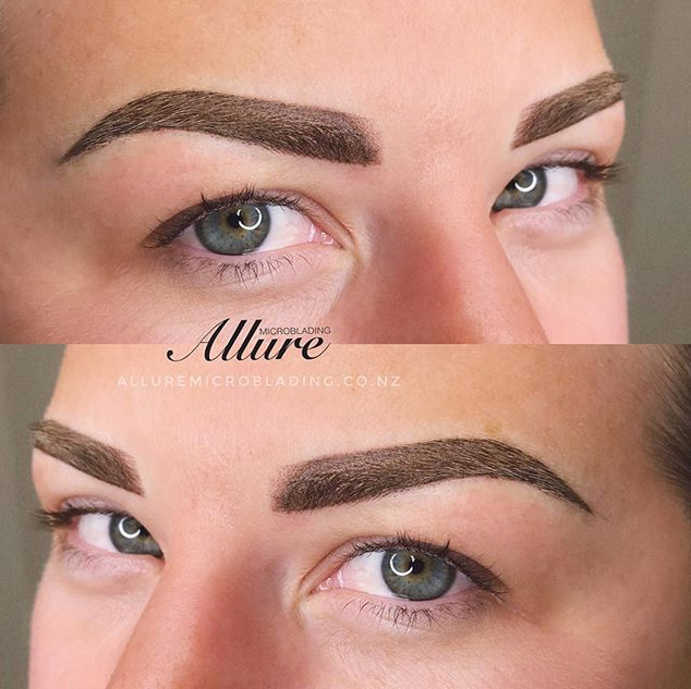 Ombre powder brows, dark shade required