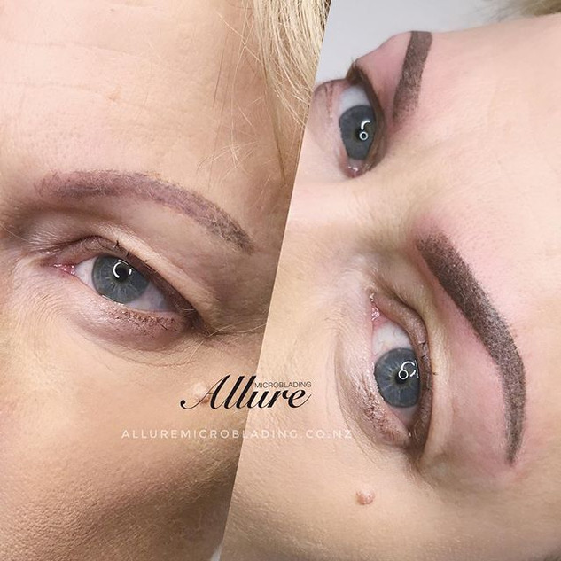 Ombre Powder Brows + Correction