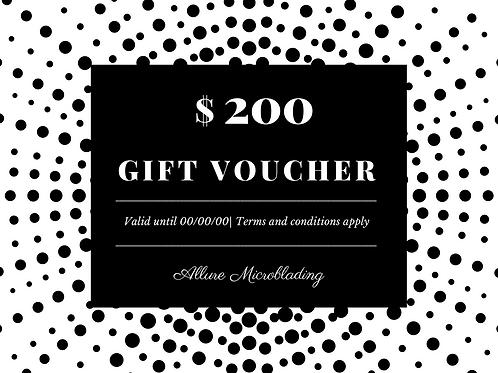 E-Voucher - $200