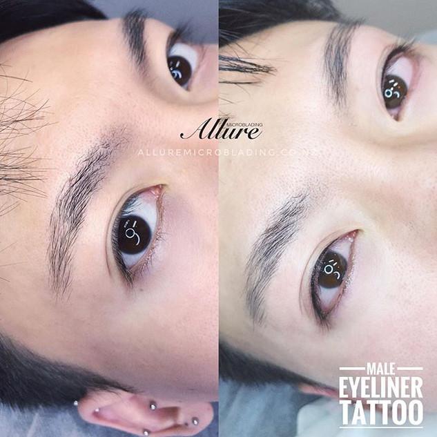 Lash enhancement, nano lash liner tattoo