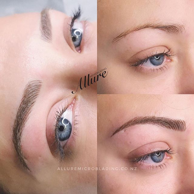 Microblading brow at its finest._._._📩