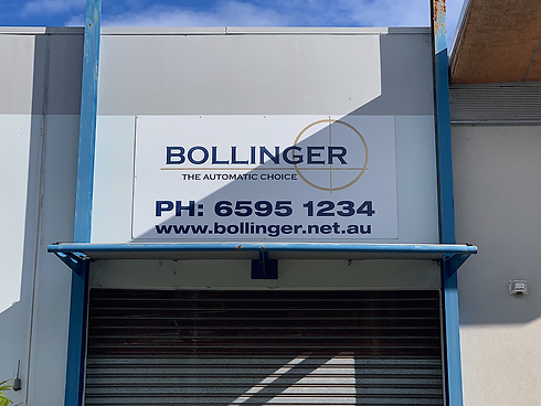 Bollinger - The Automatic Choice - Shop front