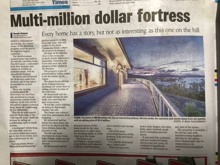 A feature about us in the 'Whitsunday Times'