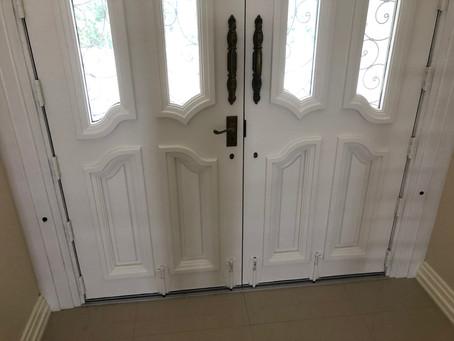 Now that's a strong door