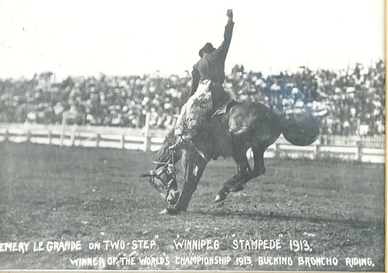 EARLY RODEO CHRONICLES FROM PINCHER CREEK'S RANCHING HERITAGE