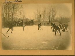 Hockey on Frozen Rink