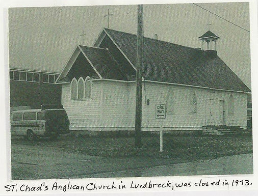 THE RELIGIOUS CHRONICLES OF ST. CHAD'S CHURCH OF ENGLAND, LUNDBRECK