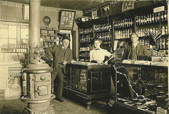 INTERIOR, MITCHELL DRUG STORE