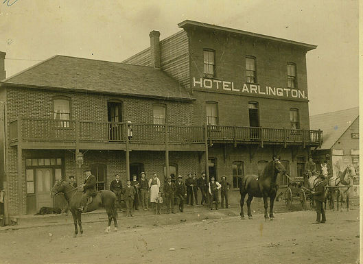 FRONTIER CHRONICLES OF THE ARLINGTON HOTEL
