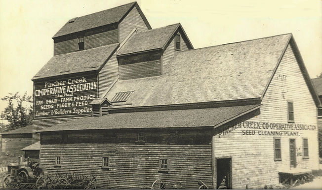 SEED CLEANING PLANT, Pincher Creek Cooperative Association