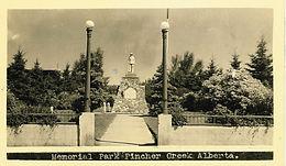MEMORIAL PARK CENOTAPH
