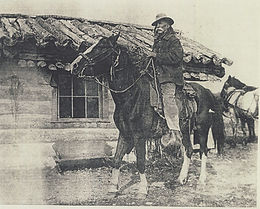 KOOTENAI BROWN ON HORSEBACK