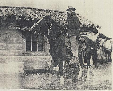 KOOTENAI BROWN ON HORSEBACK