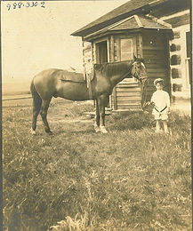 MacEachran Child & Horse