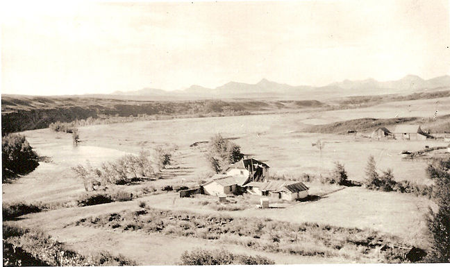 South Fork Ranch buildings