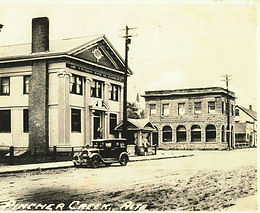 A MULTI-FACETED RURAL COMMERCIAL HISTORY: A BRIEF CHRONOLOGY OF THE BANK OF COMMERCE AND TURCOTT BUILDING