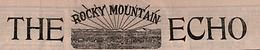 Rocky Mountain Echo Masthead
